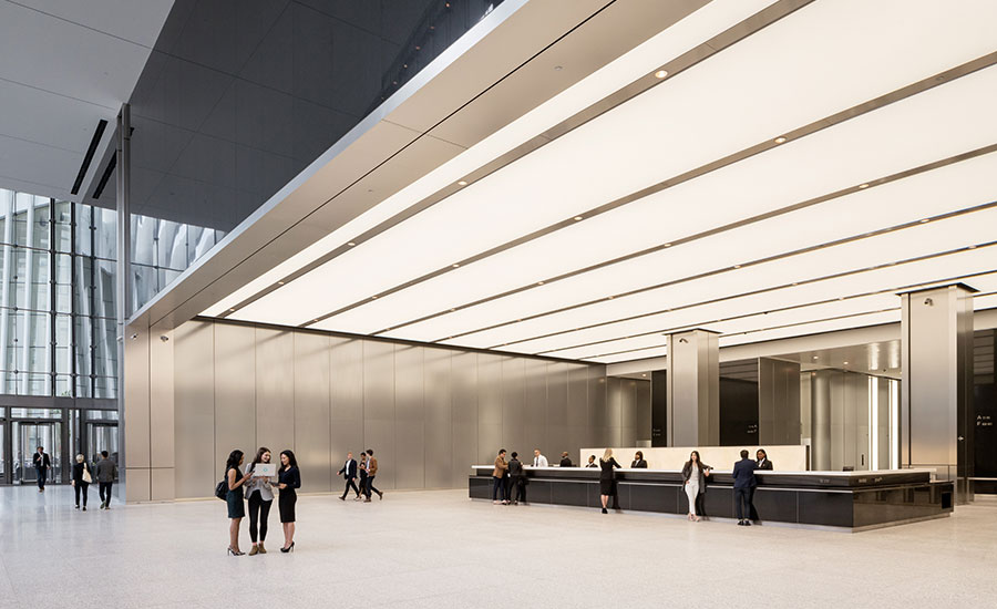 3 World Trade Center By Rogers Stirk Harbour Partners Officially Opens In New York 2018 06 11 Architectural Record