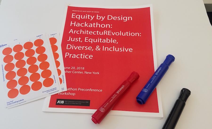 Equity by Design Hackathon Spurs New Ideas | 2018 06 22