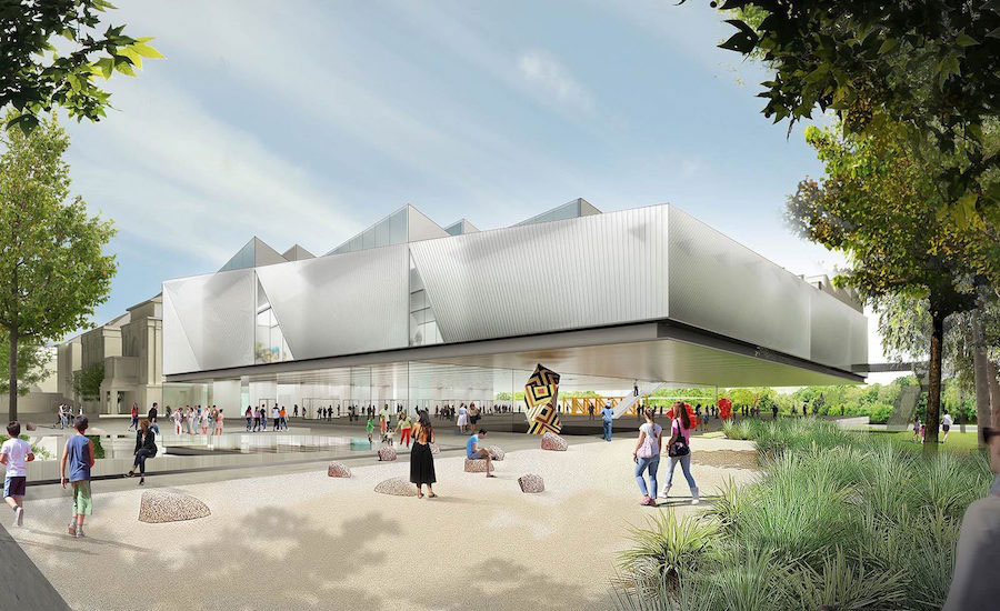 DSR and Woods Bagot Win Adelaide Contemporary Design Competition