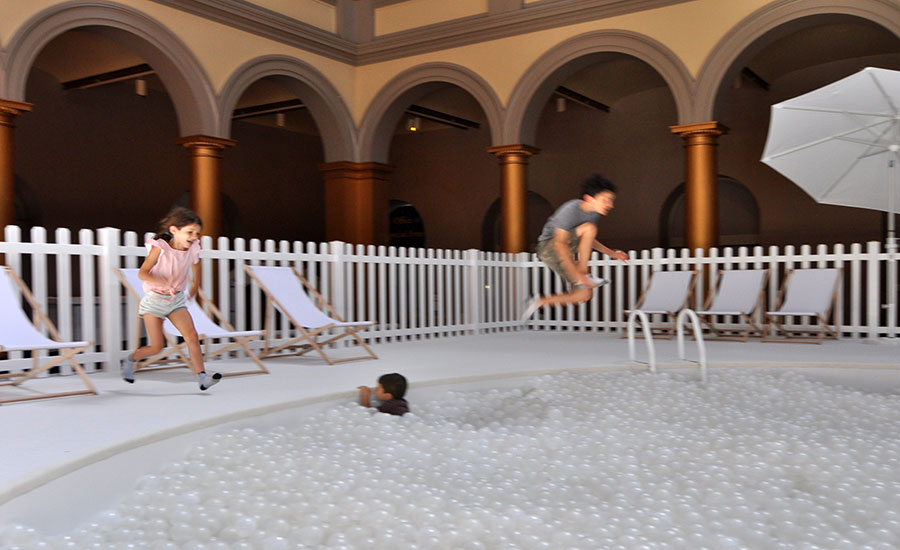 Snarkitecture returns to the national building museum with for The house returns