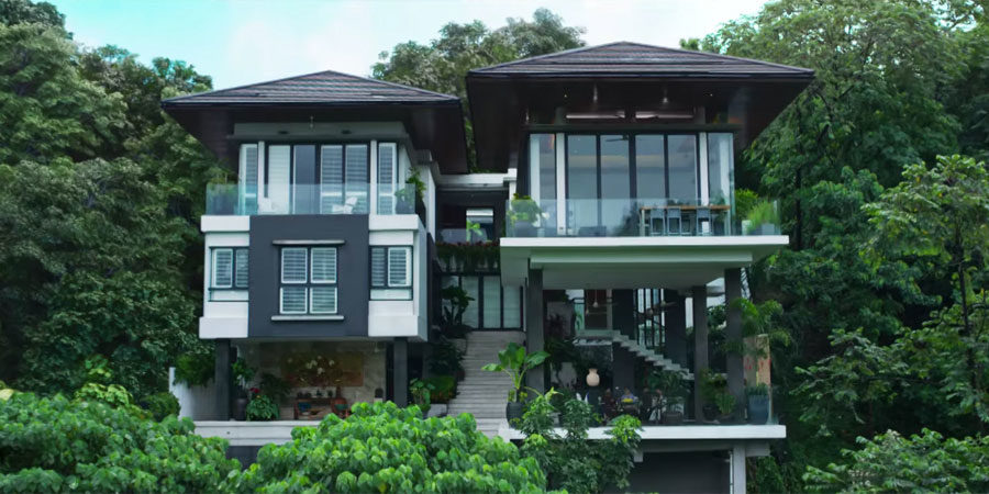 Tropical Malaysian Residence Makes Its Hollywood Debut In Crazy Rich Asians 2018 08 20 Architectural Record
