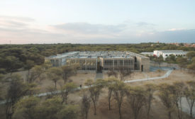 Mies Crown Hall Plaza