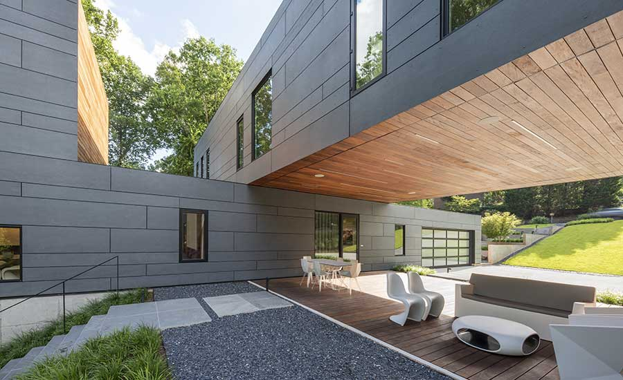 Split Box House