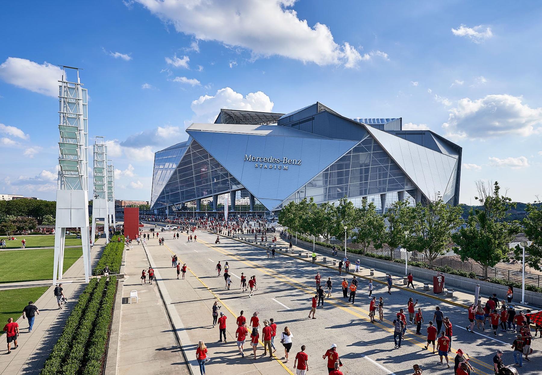 Super Bowl 2019: Mercedes-Benz Stadium Architect Takes Us ...