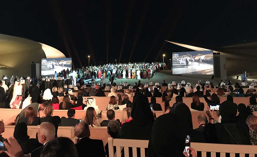After Star-Studded Ceremony, National Museum of Qatar Opens to the