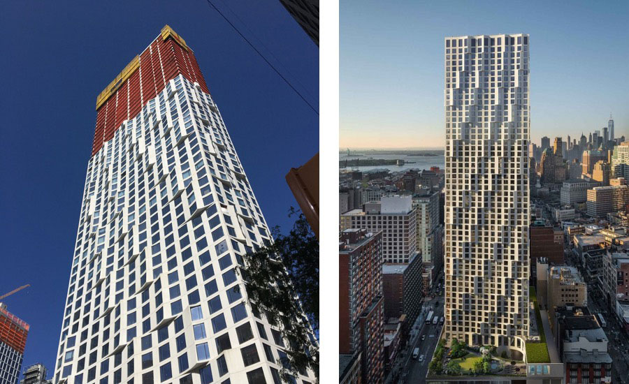 Jeanne Gang S New Residential Tower Tops Out In Downtown
