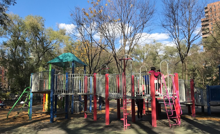 Seward Park Playground in Lower Manhattan