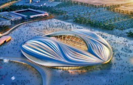 al-Wakrah stadium by Zaha Hadid