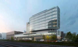 UVA Hospital Project Rendering