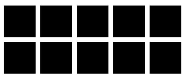 Grid of black squares