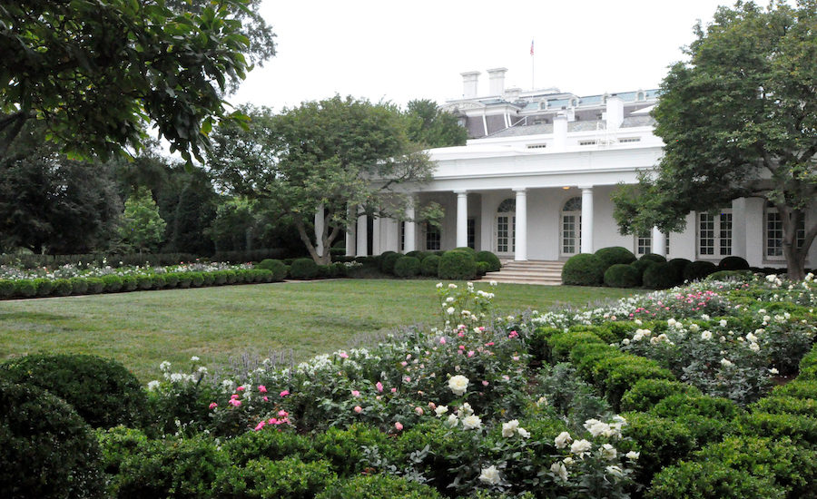 Melania Trump S White House Rose Garden Refresh Trades Trees For Views 2020 08 24 Architectural Record