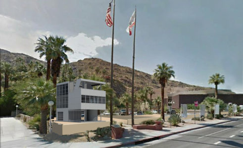 Rendering of Aluminaire House in Palm Springs