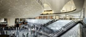 Kuwait International Airport rendering