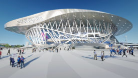 SCA Arena and Park-Russia-Coop Himmelblau_Architectural Record