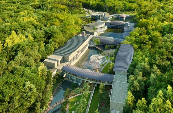 Crystal Bridges Arkansas Safdie Architects