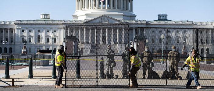 U.S. Capitol fencing