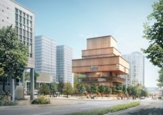 Renderings of Herzog & de Meurons First Canadian Project