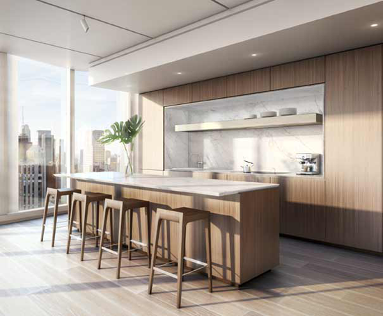Renderings of Foster + Partners Swank 100 East 53rd Street Tower
